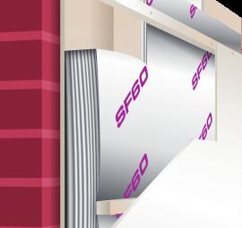SF60 Voorzetwand isolatiefolie